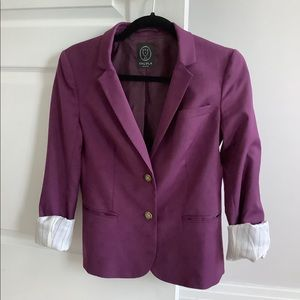Aritzia Talula blazer deep violet. Size 4